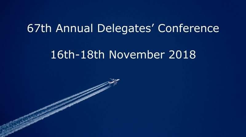 The 67th Prospect ATCOs' Branch Annual Delegates' Conference Calling Notice
